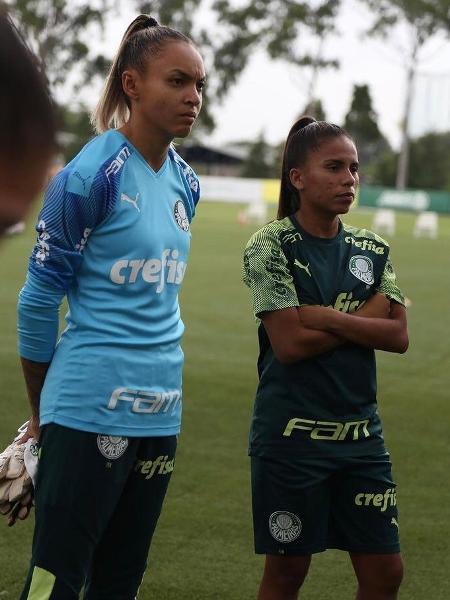 Katrine é o reforço do Palmeiras para a temporada 2021 -  Lucas Zenatti/Palmeiras