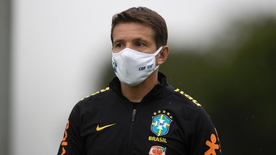Juninho Paulista, coordenador da seleção brasileira, é representante máximo da CBF em Brasília - Lucas Figueiredo/CBF