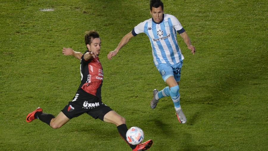 Colón arrasou o Racing por 3 a 0 e foi campeão da Copa da Liga Argentina - Divulgação Colón