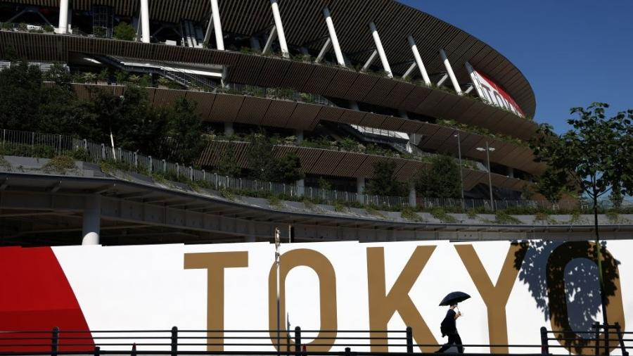 Estádio Olímpico de Tóquio, sede das cerimônias de abertura, encerramento e do atletismo - Valery Sharifulin/TASS