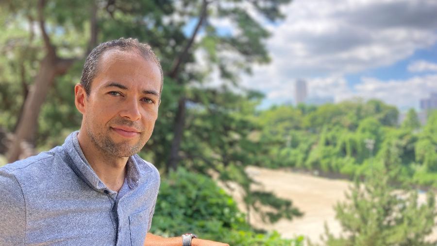 João Paulo de Oliveira, piloto brasileiro baseado no Japão - Juliana Sayuri/UOL