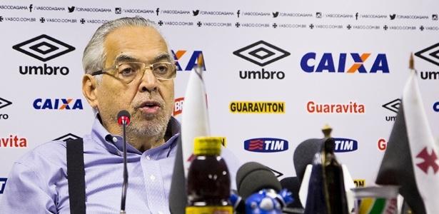 Eurico Miranda considerou lançamento como um dia importante para o futuro do Vasco