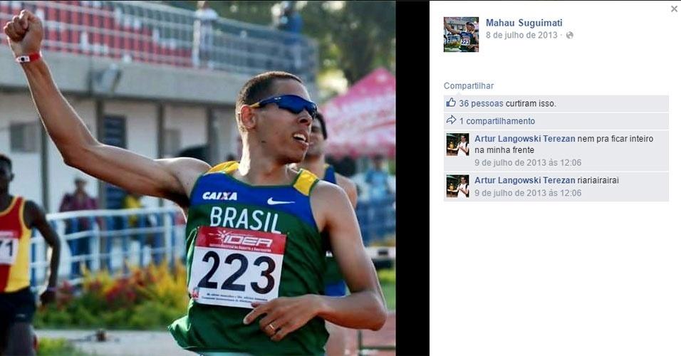 Mahau Suguimati - atletismo