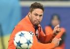 Lista dos melhores da Liga Europa tem três brasileiros e sete do Sevilla - AFP PHOTO / SERGEI SUPINSKY
