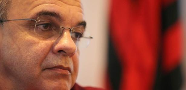 O presidente Eduardo Bandeira de Mello lida com um momento delicado no Flamengo