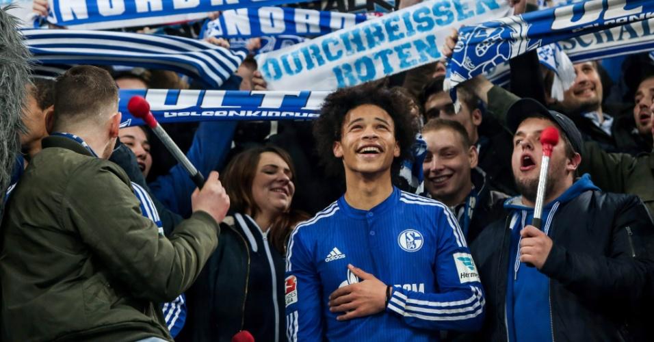 Leroy Sané, jogador do Schalke 04