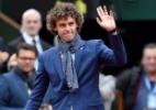 "Em seu maior título após retorno, Del Potro enaltece Guga: ""grande pessoa"" - Phillipe Lopez/AFP"