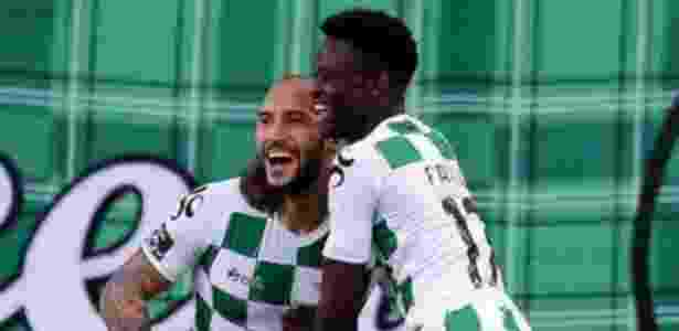 Rafael Martins (à esquerda), atacante do Moreirense - Divulgação/Moreirense - Divulgação/Moreirense