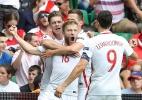 Shaqiri faz pintura, mas Polônia bate Suíça nos pênaltis e vai às quartas - Valery Hache/AFP