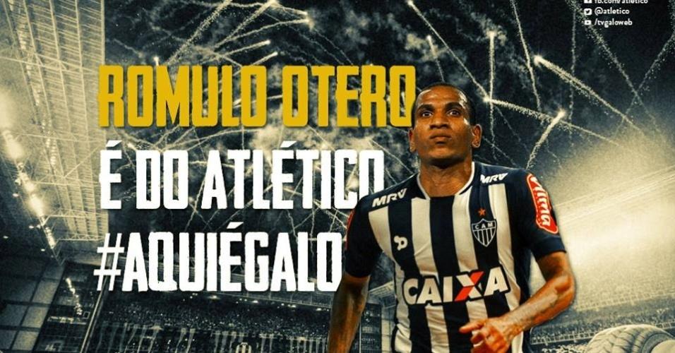 Romulo Otero é anunciado no Atlético-MG