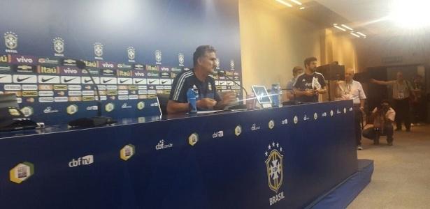 Edgardo Bauza, técnico da Argentina, avalia confronto com Tite