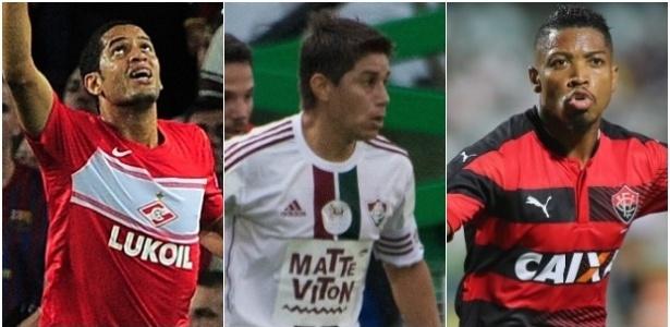 Romulo, Conca e Marinho estão próximos do Flamengo para a temporada 2017