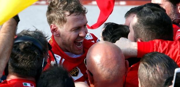 Vettel comemora vitória na primeira etapa do campeonato - Reuters