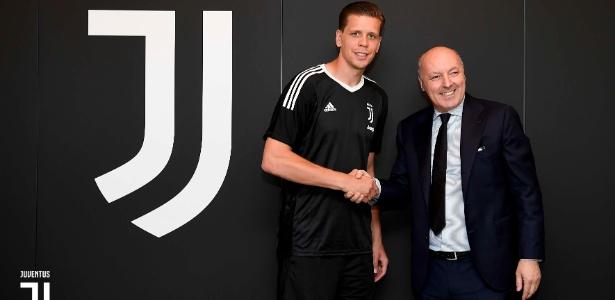 Wojciech Szczesny é anunciado como reforço da Juventus