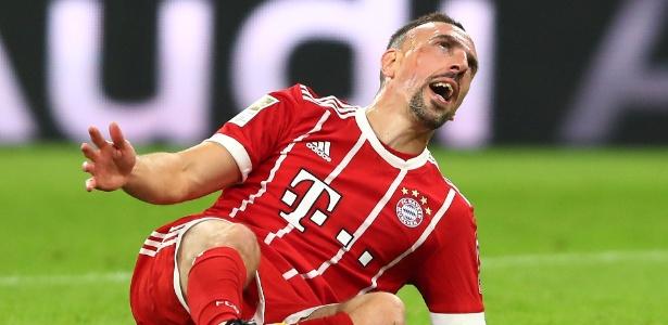 Ribéry não concordou com o resultado da Bola de Ouro