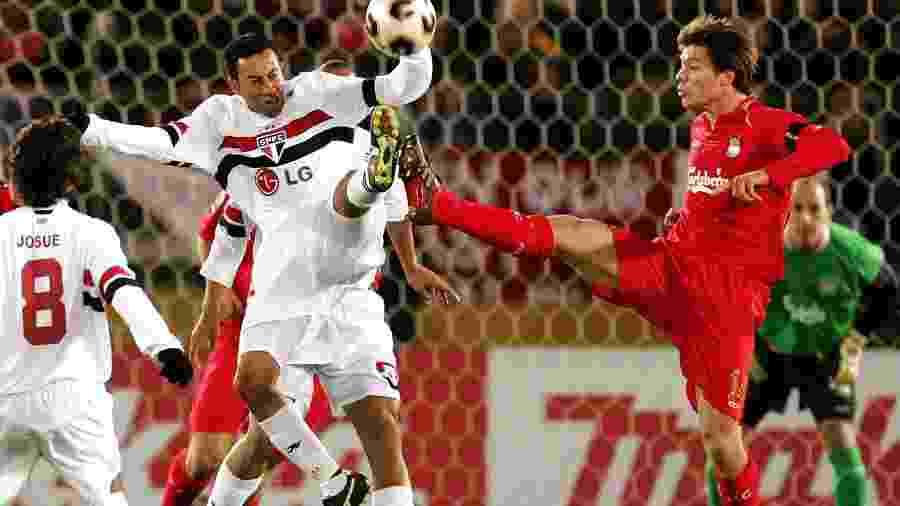Liverpool já jogou e perdeu três finais de Mundial - a última delas, contra o São Paulo, em 2005 - AFP