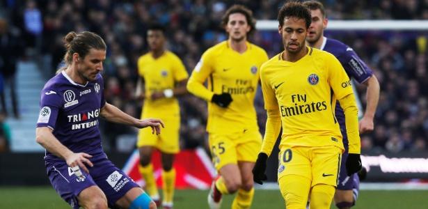 Neymar apresentou gastroenterite e não treinou com o elenco do PSG - REUTERS/Regis Duvignau