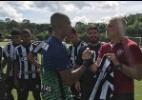 Botafogo homenageia técnico do Flu que perdeu filhas em acidente
