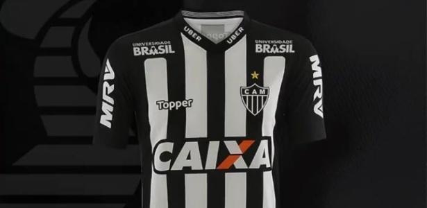 Atlético-MG divulgou o uniforme que vai usar no Campeonato Brasileiro