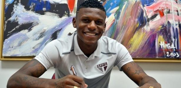 O zagueiro Arboleda renovou o seu contrato com o São Paulo - Érico Leonan / saopaulofc.net