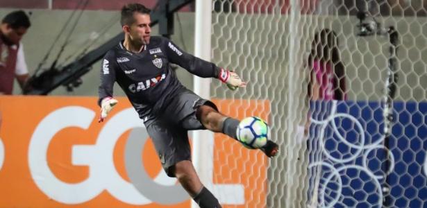 Victor, goleiro do Atlético-MG, esteve na mira do São Paulo para a próxima temporada
