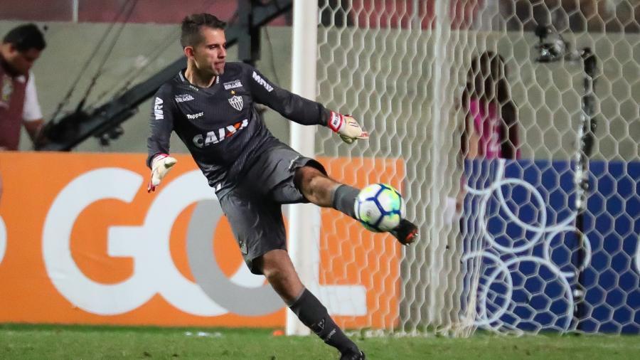 Victor, goleiro do Atlético-MG, minimiza atrasos salariais no clube - Bruno Cantini/Divulgação/Atlético-MG