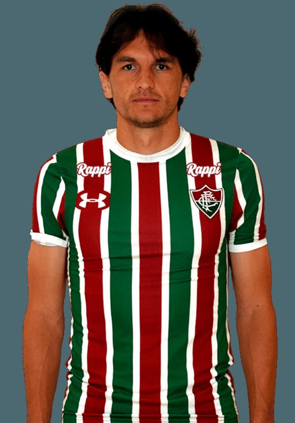 Matheus Ferraz, zagueiro do Fluminense
