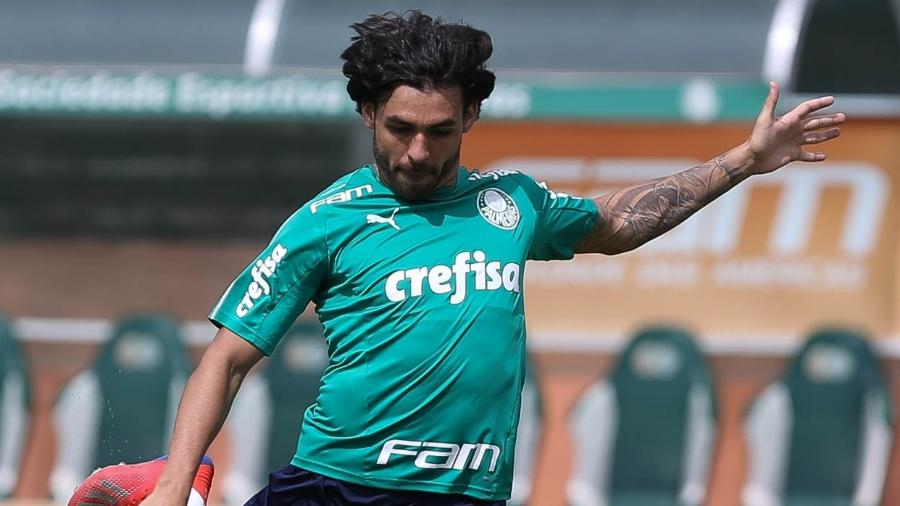 Ricardo Goulart desfalcou Palmeiras na Libertadores, mas deve voltar no Paulista - Cesar Greco/Ag. Palmeiras
