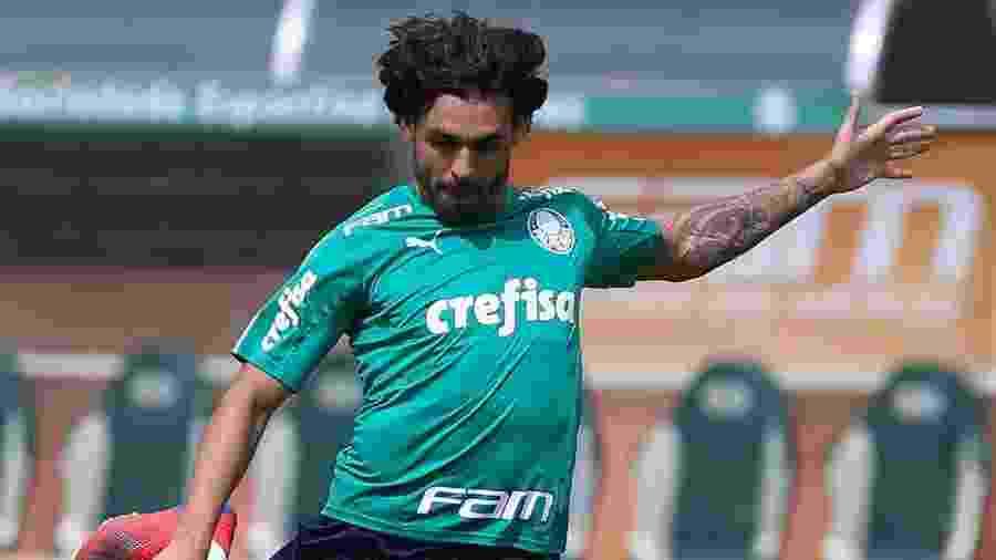 Ricardo Goulart não deve ser desfalque para o jogo contra o Melgar pela Libertadores - Cesar Greco/Ag. Palmeiras
