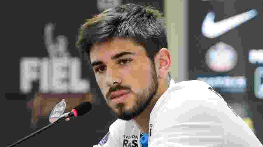 Bruno Méndez foi contratado por R$ 13 milhões e é uma grande aposta do Corinthians para o futuro - Peter Leone/Futura Press/Estadão Conteúdo