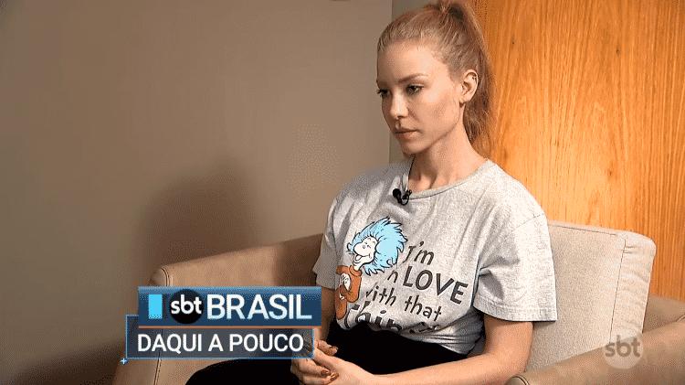 Modelo Neymar - Reprodução/SBT - Reprodução/SBT