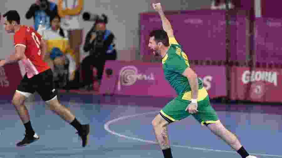 Brasil torce por seleção africana para conseguir vaga na repescagem da Olimpíada - Luis ROBAYO/AFP