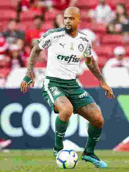 Felipe Melo, do Palmeiras - Pedro H. Tesch/AGIF
