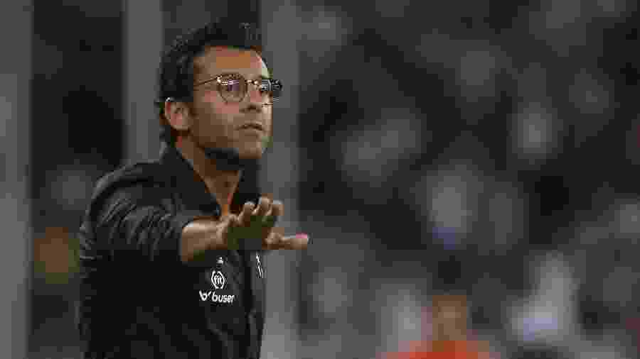 Alberto Valentim comanda o time do Botafogo pelo menos até o fim do Carioca 2020 - Vitor Silva/Botafogo