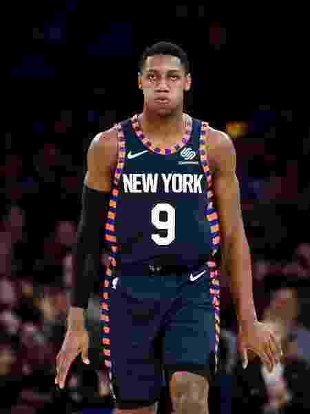 RJ Barrett foi o novato escolhido pelos Knicks em 2019. A franquia, no entanto, queria ser a nº 1 para pegar Zion Williamson - Emilee Chinn/AFP
