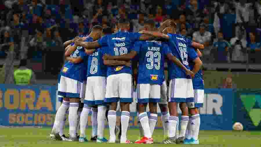 Jogadores do Cruzeiro terão corte de 25% do salário em caso de manutenção da pandemia do coronavírus - Fernando Moreno/AGIF