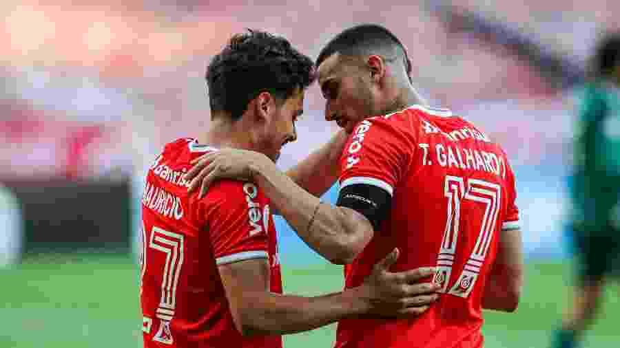 Mauricio e Thiago Galhardo podem começar como titulares contra o Boca Juniors - Fernando Alves/AGIF