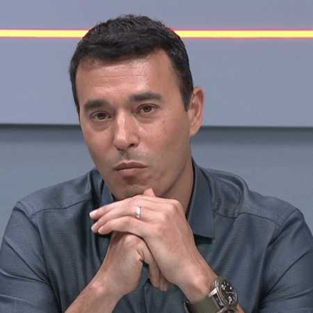 André Rizek, apersentador do Seleção SporTV - Reprodução/SporTV