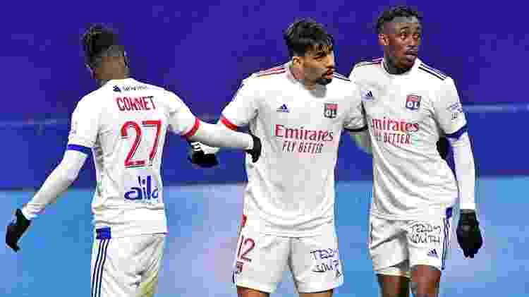 Paquetá marca, mas Lyon perde para Montpellier no Campeonato Francês - Reprodução/Twitter - Reprodução/Twitter