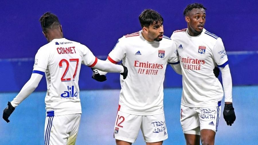 Paquetá marca, mas Lyon perde para Montpellier no Campeonato Francês - Reprodução/Twitter