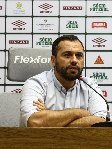 Mário Bittencourt prometeu aumentar a folha salarial do Fluminense por Libertadores - Lucas Merçon/Fluminense FC