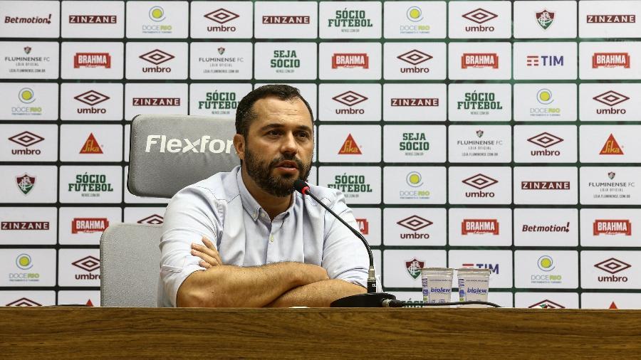Mário Bittencourt destacou a redução do déficit no Fluminense - Lucas Merçon/Fluminense FC