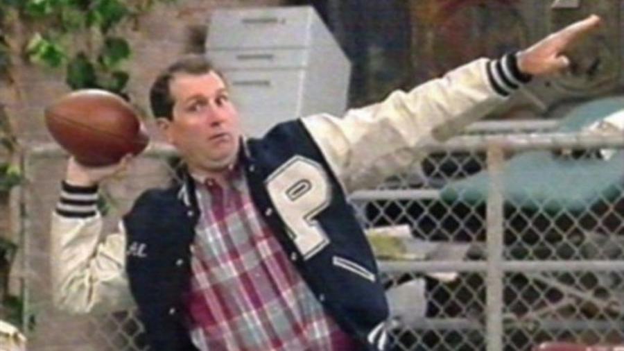 """Ed O""""Neill, como o personagem Al Bundy, de Um Amor de Família - Reprodução"""