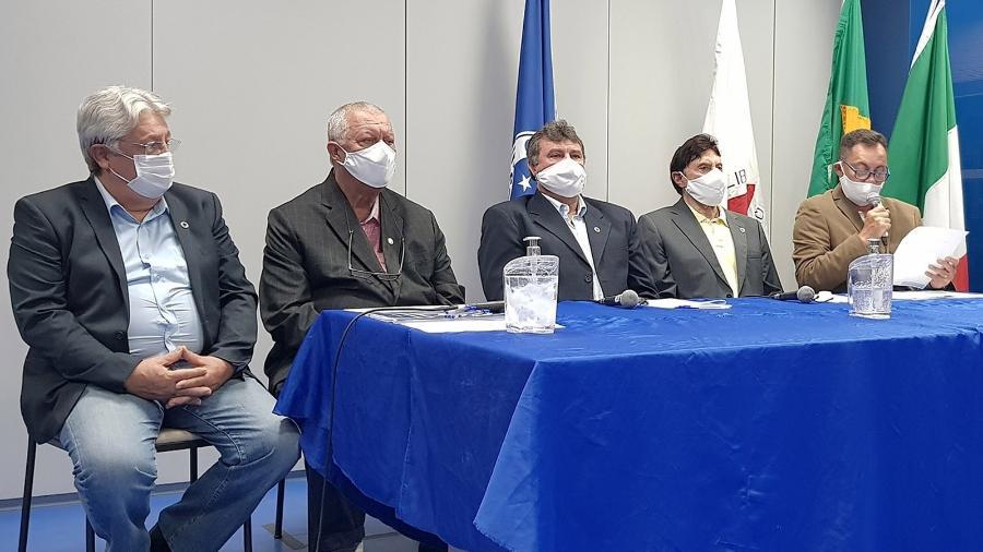 Mesa Diretora do Conselho Deliberativo do Cruzeiro presidiu reunião virtual para aprovar balanço do ano passado - Divulgação/Cruzeiro
