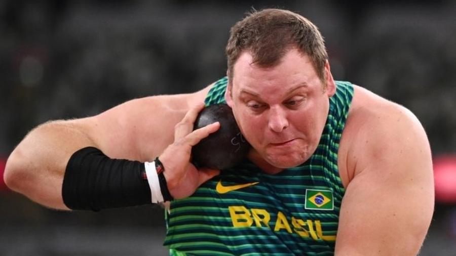 Darlan Romani chega à final do arremesso de peso com quarta melhor marca - REUTERS