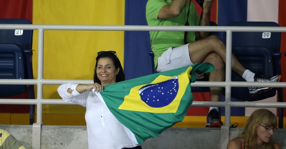 Mãe de Leonardo de Deus apoia o filho nas eliminatórias dos 200 m borboleta