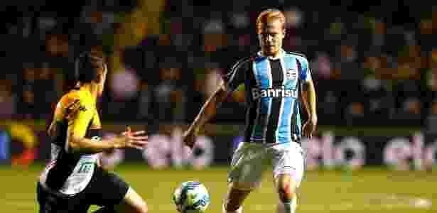 Titular na Libertadores fez teste no Grêmio  sem dormir  e sonha com ... 39d679be7fca1