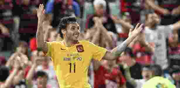 Ricardo Goulart tem oferta do Cruzeiro na mesa e avalia volta ao Brasil - Xinhua/Jin Linpeng