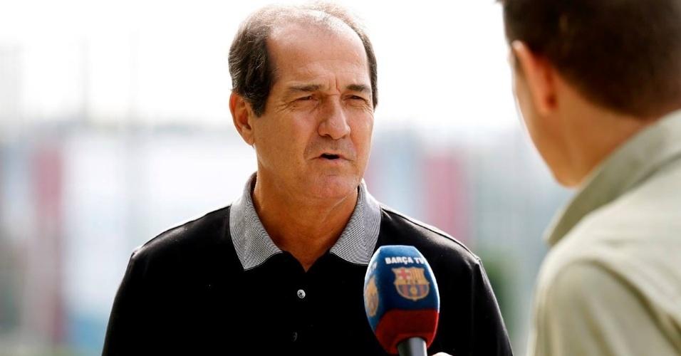 Muricy Ramalho é entrevistado pela Barça TV