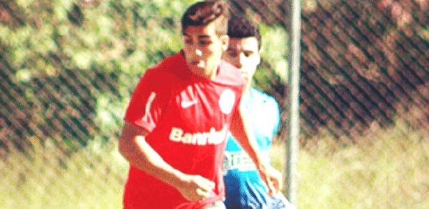 Ezequiel Esperon defendia o Inter no ano passado, agora é do Grêmio - Reprodução/Instagram